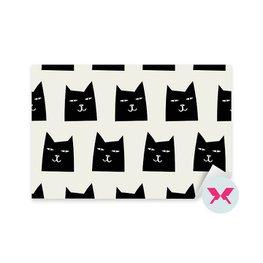 Dekor för småbarn - Kattmönster