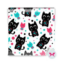 Fototapet för dagisbarn - Söt roliga kattungar