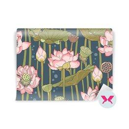 Fototapet - Blomstrande lotus