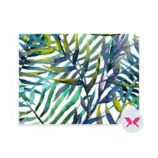 Nálepka - Abstraktní vzor, akvarel