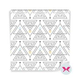 Carta da Parati per ingresso - Ornamento minimalistico astratto