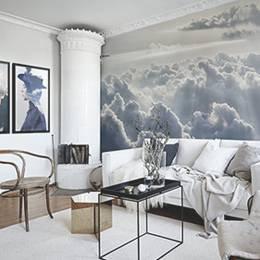 Fototapeta a plakáty do obývacího pokoje - Hlava v oblacích