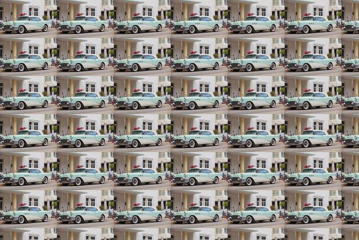 Vinylová Tapeta Auto d'epoca parcheggiata su Ocean Drive - Amerika