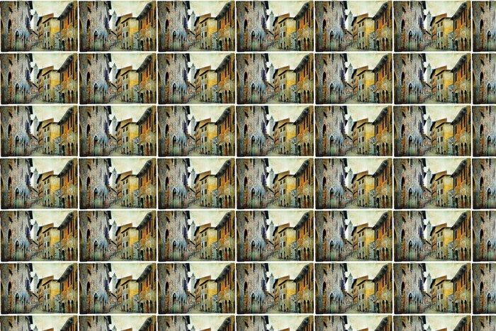 Vinylová Tapeta Středověkých Toskánsko. Streets of San Gimignano - Témata