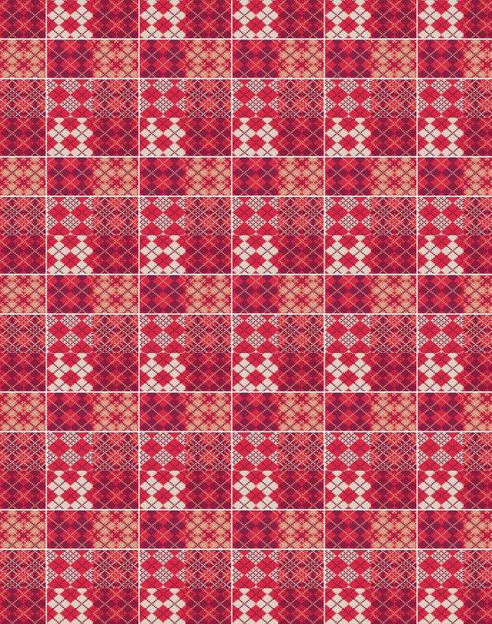 Vinylová Tapeta Sada pletených vzorníků - Struktury
