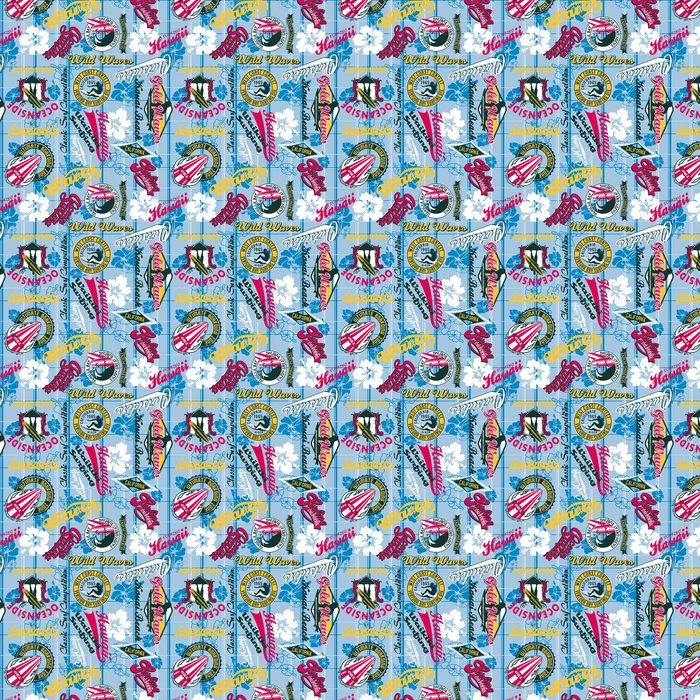 Vinylová Tapeta Surfování bezešvé vzor - Témata