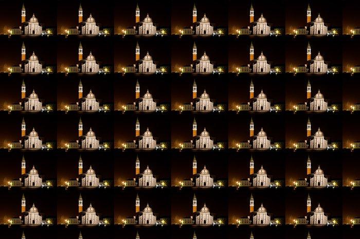 Vinylová Tapeta San Giorgio Maggiore v noci - Evropská města