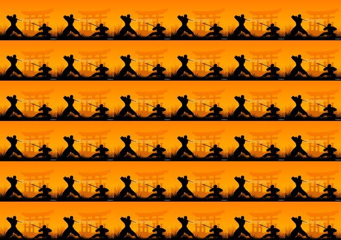 ninjas Vinyl Wallpaper - Extreme Sports