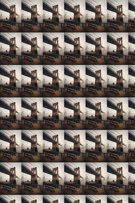 Vinylová Tapeta Brooklyn bridge - Stavby a architektura