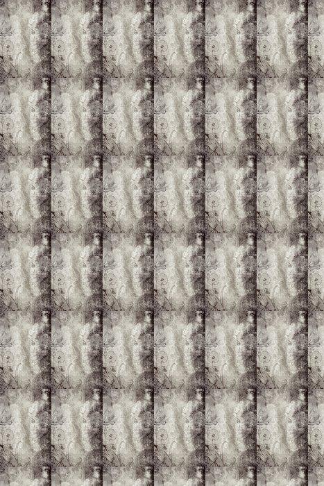 Vinylová Tapeta Grunge sépie stránky s tmavým špinavým malované textury - Pozadí