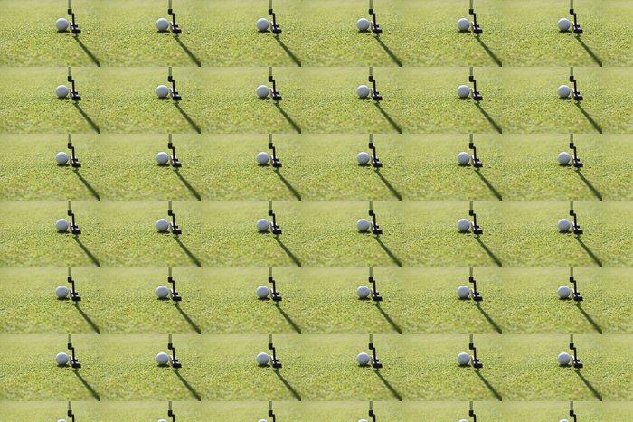 Vinylová Tapeta Golf club a míček. Příprava k výstřelu - Individuální sporty