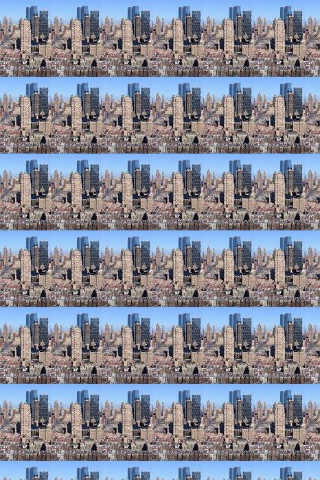 Vinylová Tapeta Manhattan Midtown Dojmy Portrét - Americká města