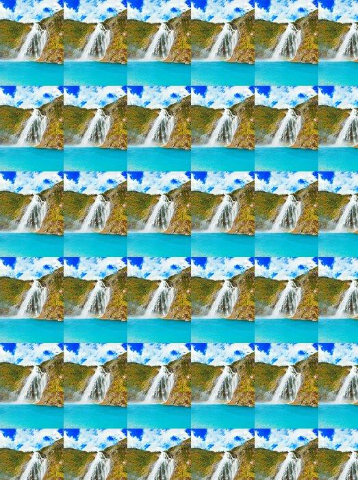 Vinylová Tapeta Vodopád - Roční období