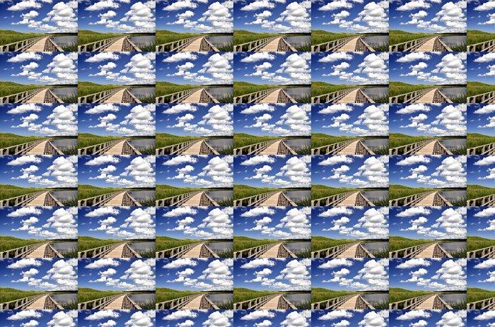 Vinylová Tapeta Seaside bažina dřevěný - Amerika