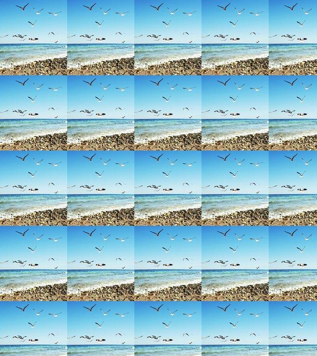 Vinylová Tapeta Sea racci - Voda