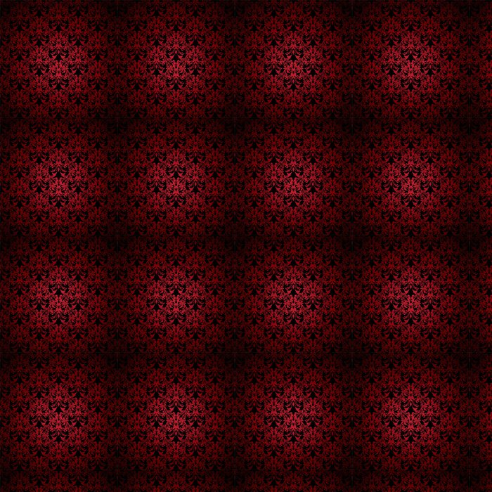 Vinylová Tapeta Červené a černé květinové inspiroval pozadí, které dlaždice hladce - Pozadí