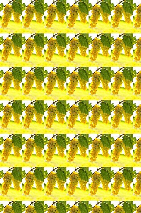 Vinylová Tapeta Žluté hrozny - Zemědělství