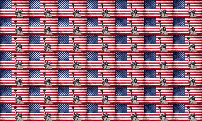 Vinylová Tapeta Americký styl - Památky