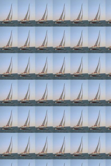 Vinylová Tapeta Soustružení plachetnici - Lodě
