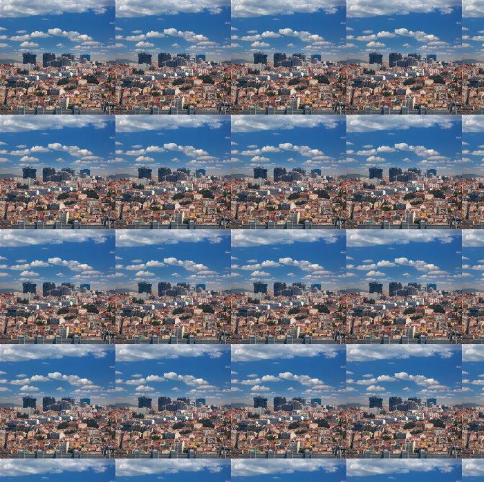 Vinylová Tapeta Nové a Staré čtvrti Lisabonu, Portugalsko - Evropská města