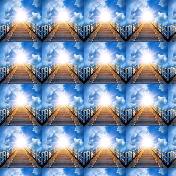 Vinylová Tapeta Cesta na obloze - Nebe