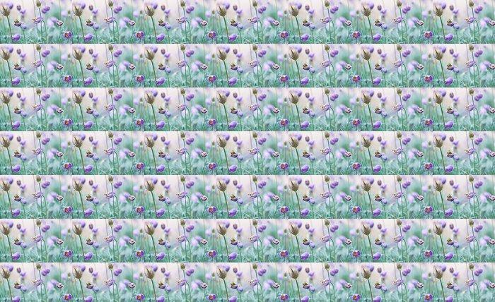 Vinylová Tapeta Zvadlých Koniklec květiny v zahradě - Květiny