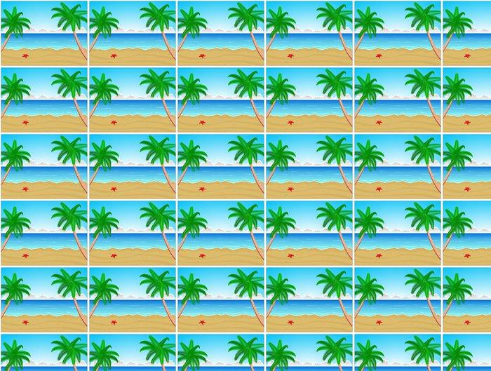 Vinylová Tapeta Tropické pláže - Prázdniny