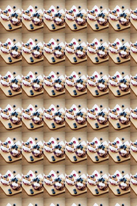 Vinylová Tapeta Borůvkové muffiny - Témata