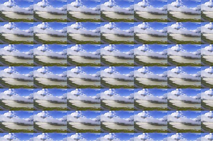 Vinylová Tapeta Lake Grimsel - Prázdniny