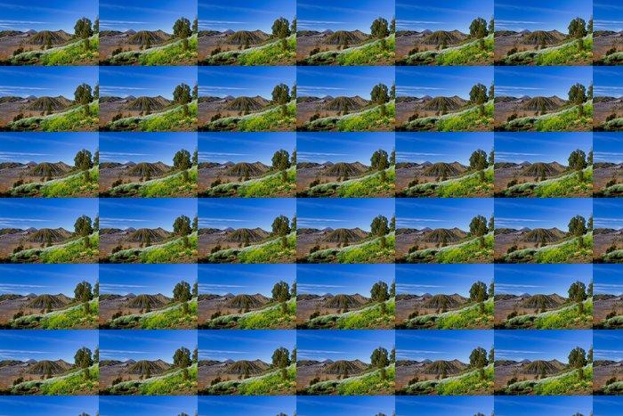 Vinylová Tapeta Pohled na hory na Jawa Indonésie - Asie