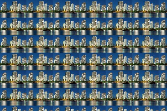 Vinylová Tapeta Australský moderní město v noci (Miami Beach, Gold Coast) - Témata