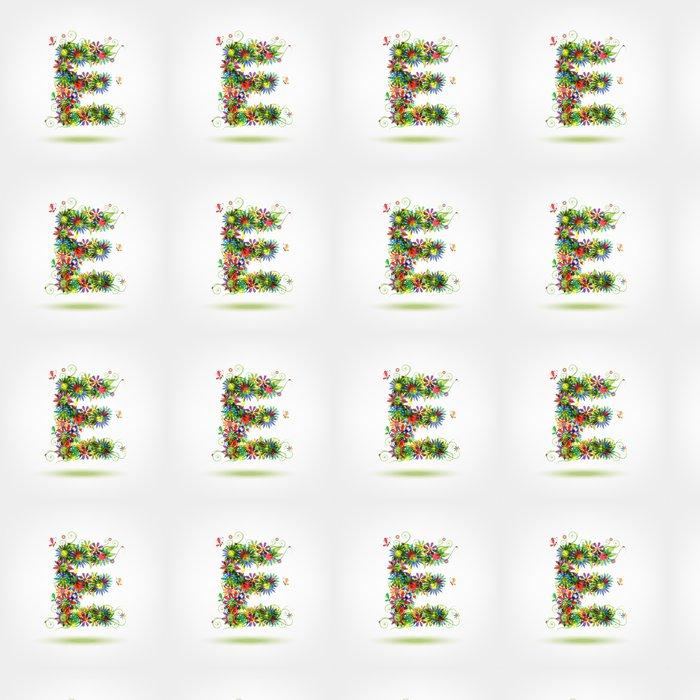 Vinylová Tapeta Květinová dopis pro svůj design - Vzdělávání