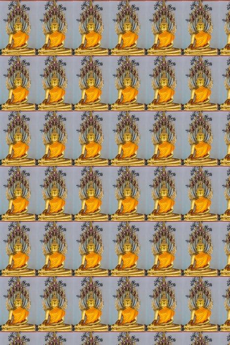 Vinylová Tapeta Zlatá socha Buddhy Wat Pho, chrám bangkok, thajsko - Asie