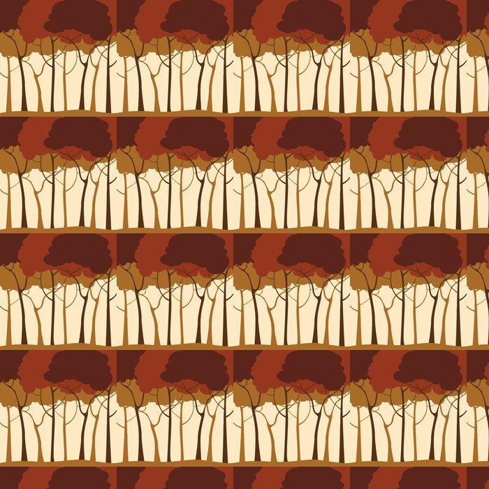 Vinylová Tapeta Lesa v pozadí - Roční období