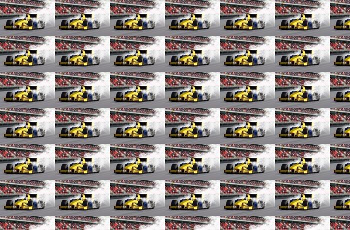 Vinylová Tapeta Formula One Speed Car - Na cestě