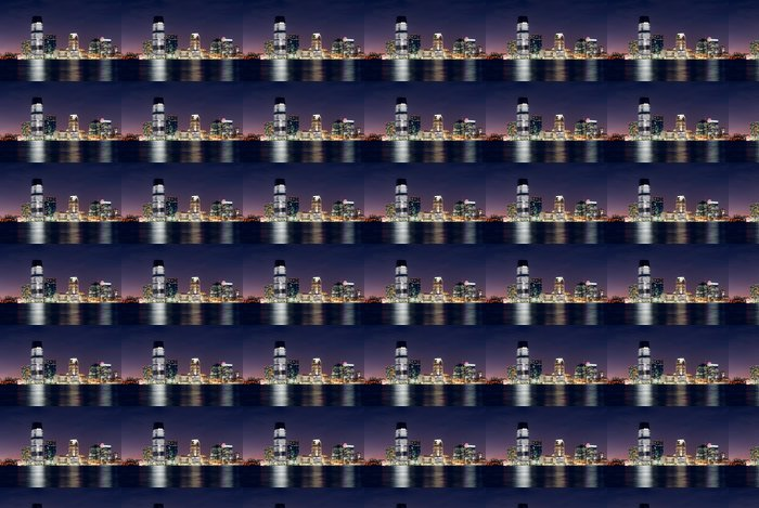Vinylová Tapeta Jersey City Skyline - Amerika