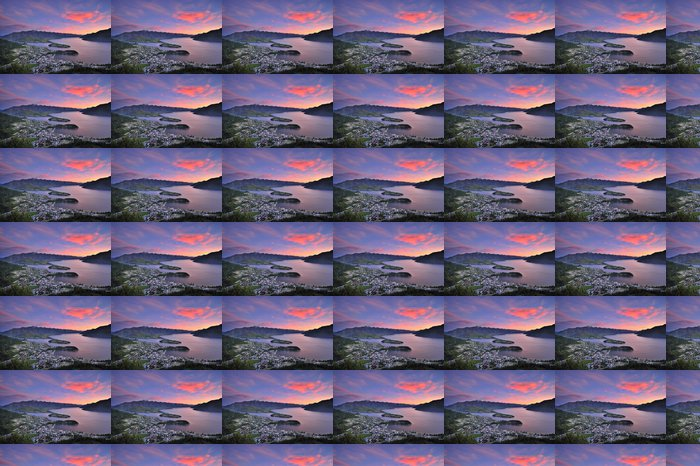 Vinylová Tapeta Pohled z Queenstown, Nový Zéland za soumraku - Oceánie