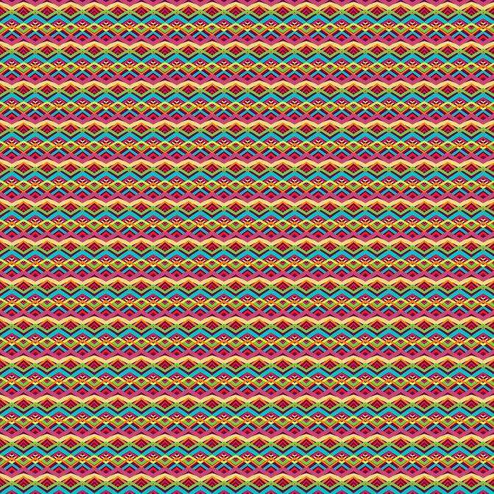 Vinylová Tapeta Barevné kmenový vzor - Styly