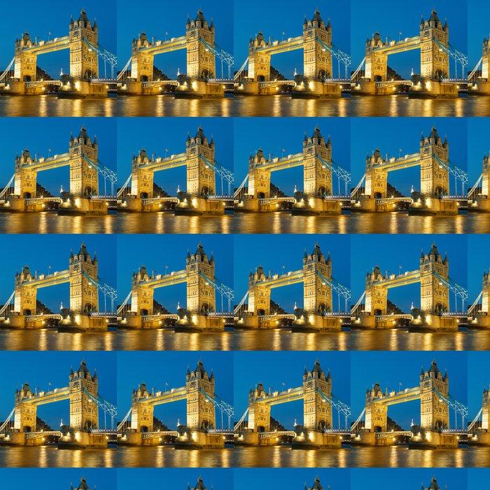 Vinylová Tapeta Tower Bridge v noci - Témata