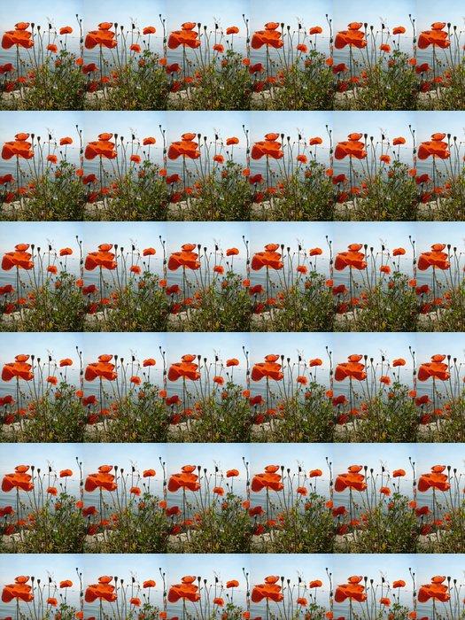 Vinylová Tapeta Coquelicot pro Amsterodam - Květiny