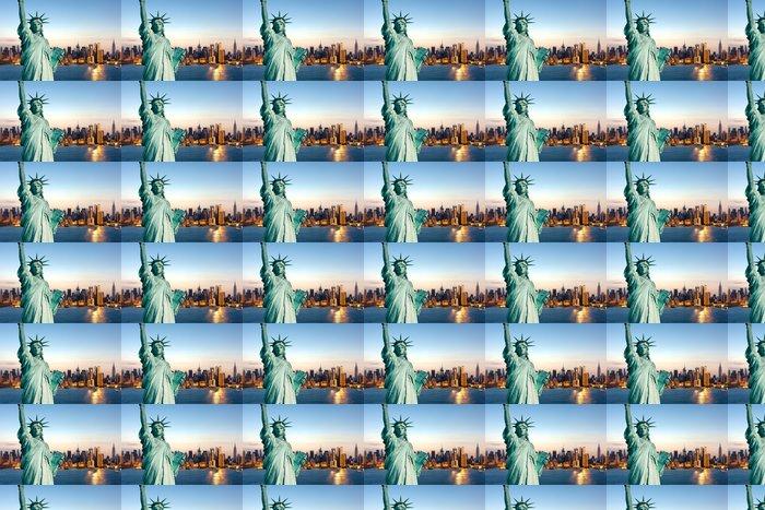 Vinylová Tapeta New York socha Liberté - Osud