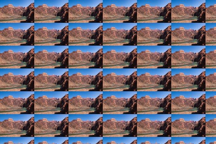 Vinylová Tapeta Mosty přes řeky Colorado v dolní části Grand Canyon - Amerika