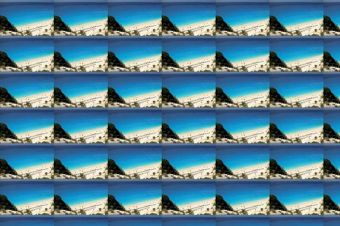 Vinylová Tapeta Pohled na Egremni Beach, Lefkada, Řecko - Prázdniny