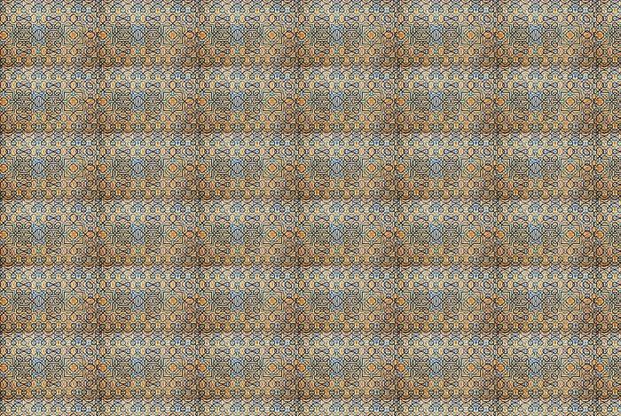 Vinylová Tapeta Mozaika stěna na Alhambra v Granadě ve Španělsku - Evropa
