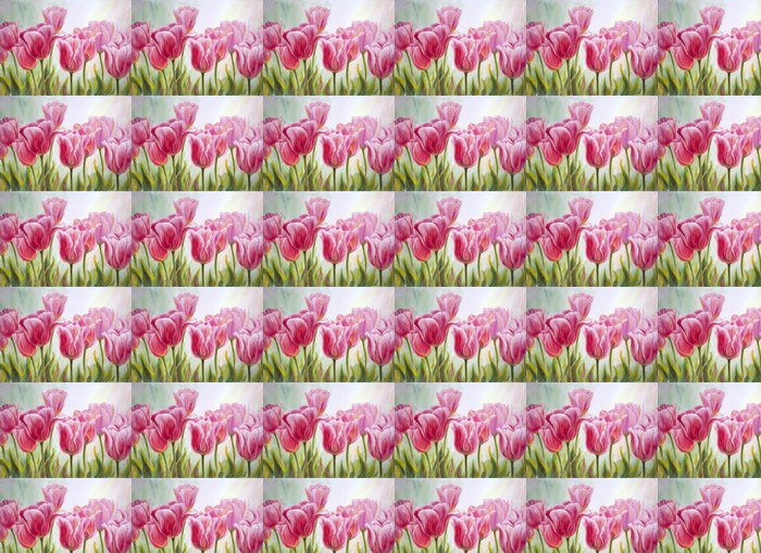 Vinylová Tapeta Tulipány, olej na plátně - Témata