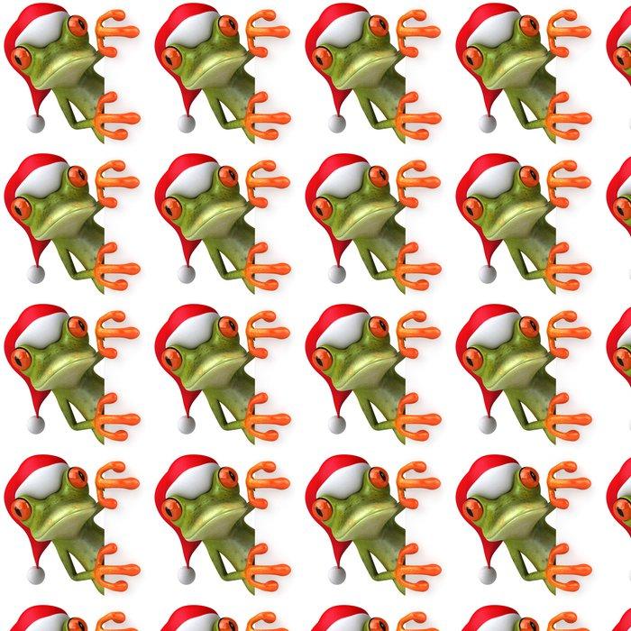 Vinylová Tapeta Vánoční žába - Značky a symboly
