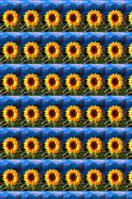 Vinylová Tapeta Slunečnice - Květiny