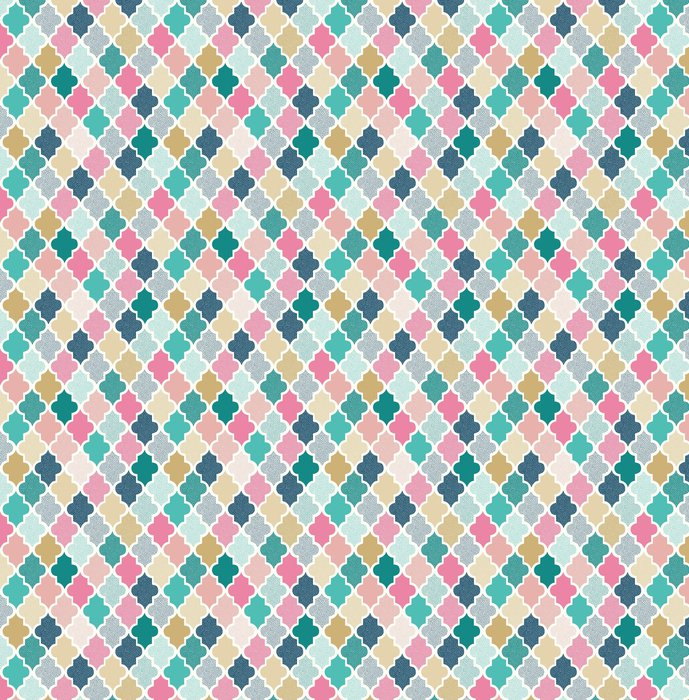 Vinylová Tapeta Bezešvé doodle tečky geometrický vzor - Grafika
