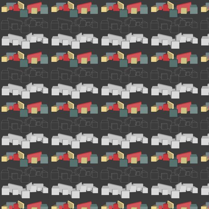Vinylová Tapeta 3 rozměrné geometrické tvary - Značky a symboly