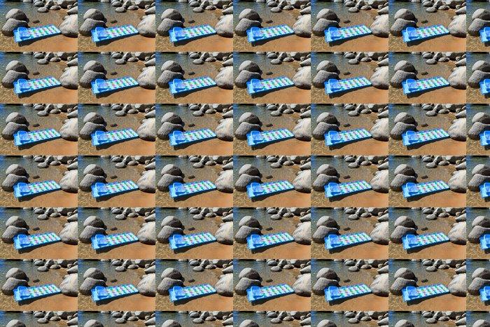 Vinylová Tapeta Plavat matrace na čistou vodu - Amerika